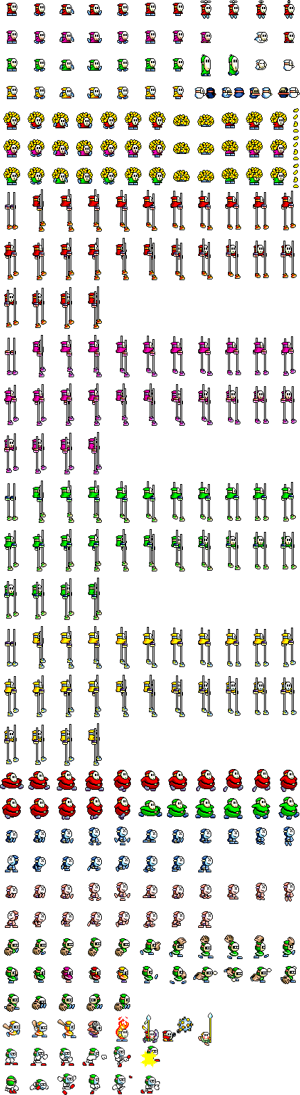 density of sprite